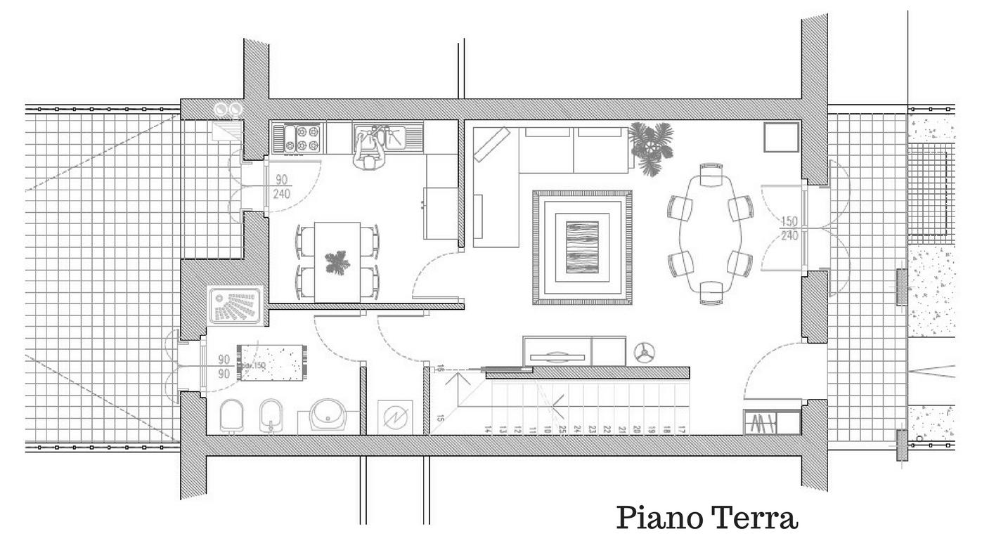 Altichiero pd lotto 11 consorzio cerv for Piano piano lotto stretto