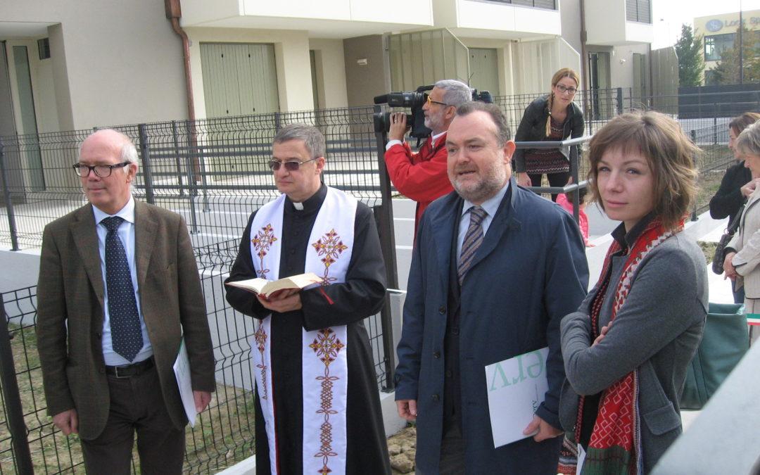 Inaugurate a Bassano le case più sicure del Veneto