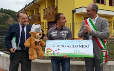 """Speciale Galzignano """"Andrea: primo bimbo col bonus asilo"""""""