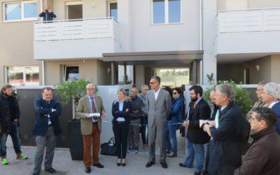 """Inaugurate ad Altichiero le case Cerv del """"Residence al Parco"""""""