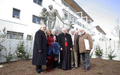 """Speciale """"Monumento della famiglia"""" di Gazzera con il patriarca Scola"""