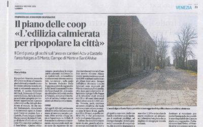 """Il """"Modello Venezia"""" presentato in conferenza stampa"""