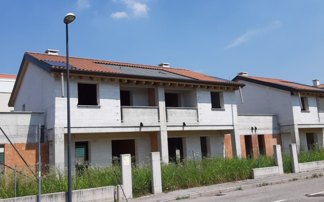 Treviso, zona Peep San Giuseppe: tre nuove villette a schiera Cerv